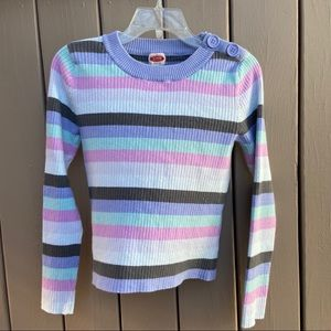 CRB Canyon River Blues striped crew neck sweater